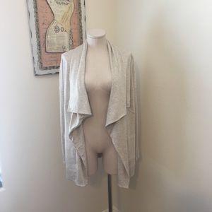 Calvin Klein draped cardigan